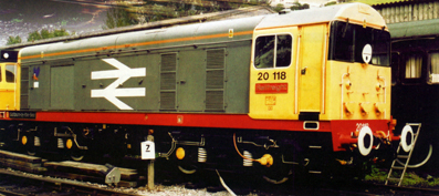 Class 20 Diesel Electric Locomotive