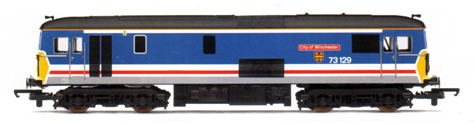 Class 73 Diesel Electric Locomotive - City Of Winchester