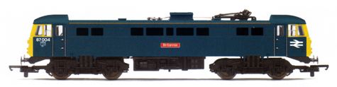 Class 87 Bo-Bo Electric Locomotive - Britannia