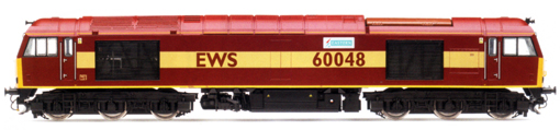 Class 60 Diesel Electric Locomotive - Eastern (DCC Locomotive with Sound)