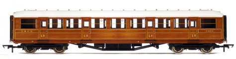 L.N.E.R. 61ft 6in Corridor 3rd Class Coach