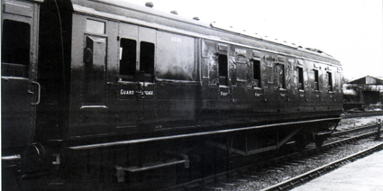 S.R. Maunsell Brake Composite Coach