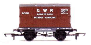 G.W.R. Conflat And Container