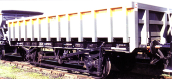 Departmental ZCV (Tope) Wagon - Three Wagon Pack (Weathered)