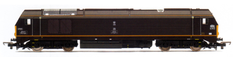 Class 67 Bo-Bo Diesel Electric Locomotive - Queens Messenger