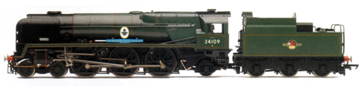 Rebuilt Battle Of Britain Class Locomotive - Sir Trafford