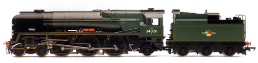 Rebuilt West Country Class Locomotive - Yes Tor