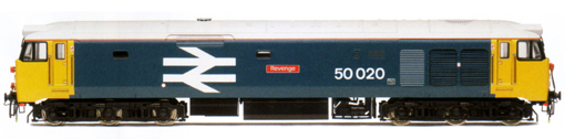 Class 50 Co-Co Diesel Electric Locomotive - Revenge