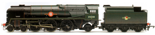 Merchant Navy Class Locomotive - Blue Star