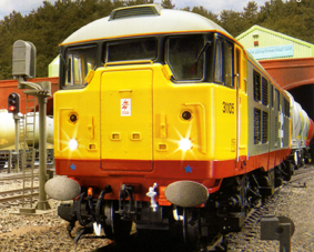 Class 31 Diesel Electric Locomotive - Railfreight