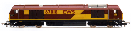 Class 67 Bo-Bo Diesel Electric Locomotive - Rapid
