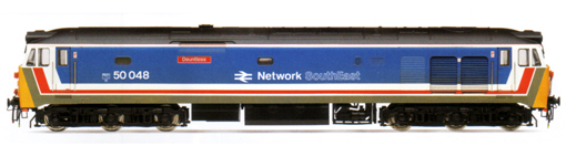 Class 50 Co-Co Diesel Electric Locomotive - Dauntless