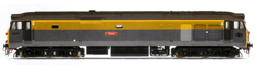 Class 50 Diesel Electric Locomotive - Valiant (DCC Locomotive with Sound)