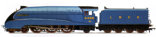 Class A4 Locomotive - Herring Gull (DCC Locomotive with Sound)
