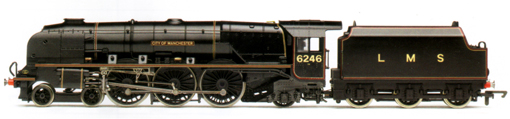Princess Coronation Class Locomotive - City Of Manchester