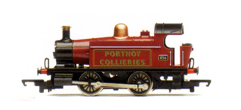 Portnov Collieries 0-4-0T Locomotive