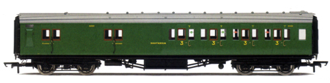 S.R. Maunsell 4 Compartment 3rd Class Brake Coach