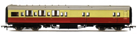 B.R. (Ex S.R.) Maunsell 4 Compartment 3rd Class Brake Coach