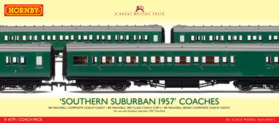 Southern Suburban 1957 Coach Pack