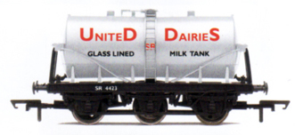 S.R. United Dairies 6 Wheel Milk Tank Wagon