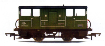B.R. Shark Ballast Brake Van (Weathered)