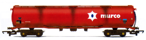 Murco 100 Ton Tank Wagon (Weathered)