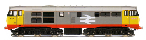 Class 31 Diesel Electric Locomotive - Railfreight (DCC Locomotive with Sound)