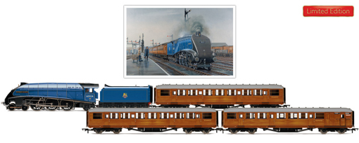 Rare Bird Train Pack (Class A4 - Kingfisher)  - Barry J. Freeman Collection