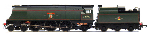 West Country Class Locomotive - Blandford Forum