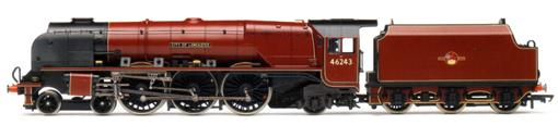 Princess Coronation Class Locomotive - City Of Lancaster
