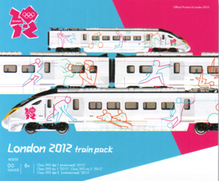 London 2012 Train Pack (Class 395)