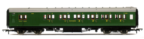 S.R. Maunsell 3rd Class Brake Composite Coach