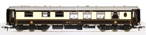 Pullman 12 Wheel 1st Class Kitchen Car Monaco