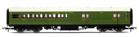 S.R. 4 Compartment Brake 3rd Class Coach