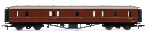 B.R. Hawksworth (Post 1956) Gangway Passenger Brake Coach