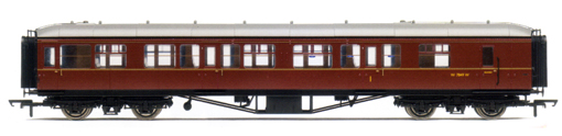 B.R. Hawksworth (Post 1956) Composite Brake Coach