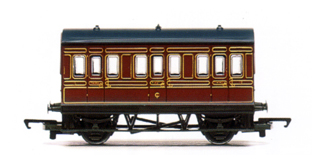 L.M.S. Four Wheel Coach