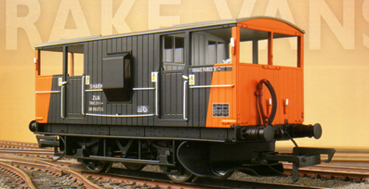 LoadHaul Shark Ballast Brake Van (Weathered)