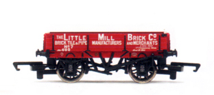 The Little Mill Brick Company 3 Plank Wagon