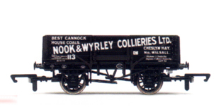 Nook & Wyrley Collieries 5 Plank Wagon