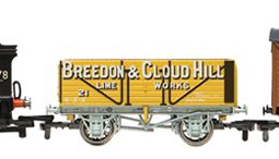 Breedon & Cloud Hill Lime Works 7 Plank Wagon