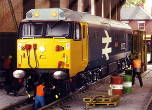 Class 50 Diesel Electric Locomotive - Illustrious (DCC Locomotive with Sound)