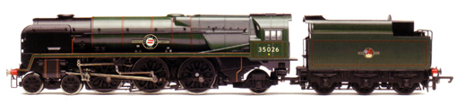 Merchant Navy Class Locomotive - Lamport & Holt Line