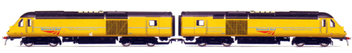 Network Rail Measurement Train Drive Units (Class 43)