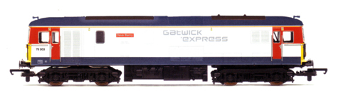 Gatwick Express Class 73 Electro Diesel Locomotive - Dave Berry