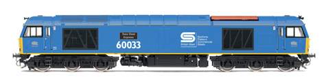 Class 60 Diesel Electric Locomotive - Tees Steel Express