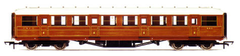 L.N.E.R. 61ft 6in Corridor 1st Class Coach