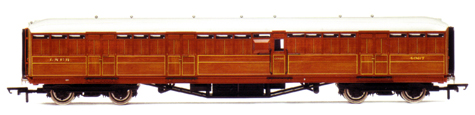 L.N.E.R. 61ft 6in Full Brake Coach