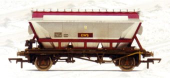 EWS CDA Wagon (Weathered)