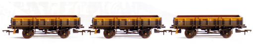 Departmental ZBA (Rudd) Wagon - Three Wagon Pack (Weathered)